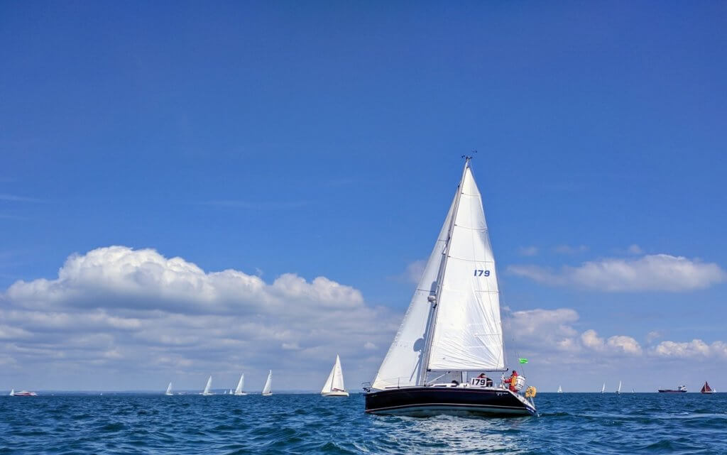 Sailing in England