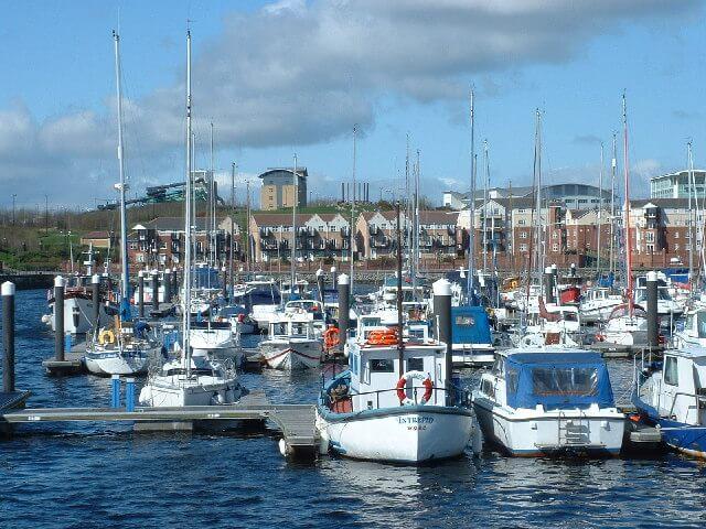 Best marinas in england