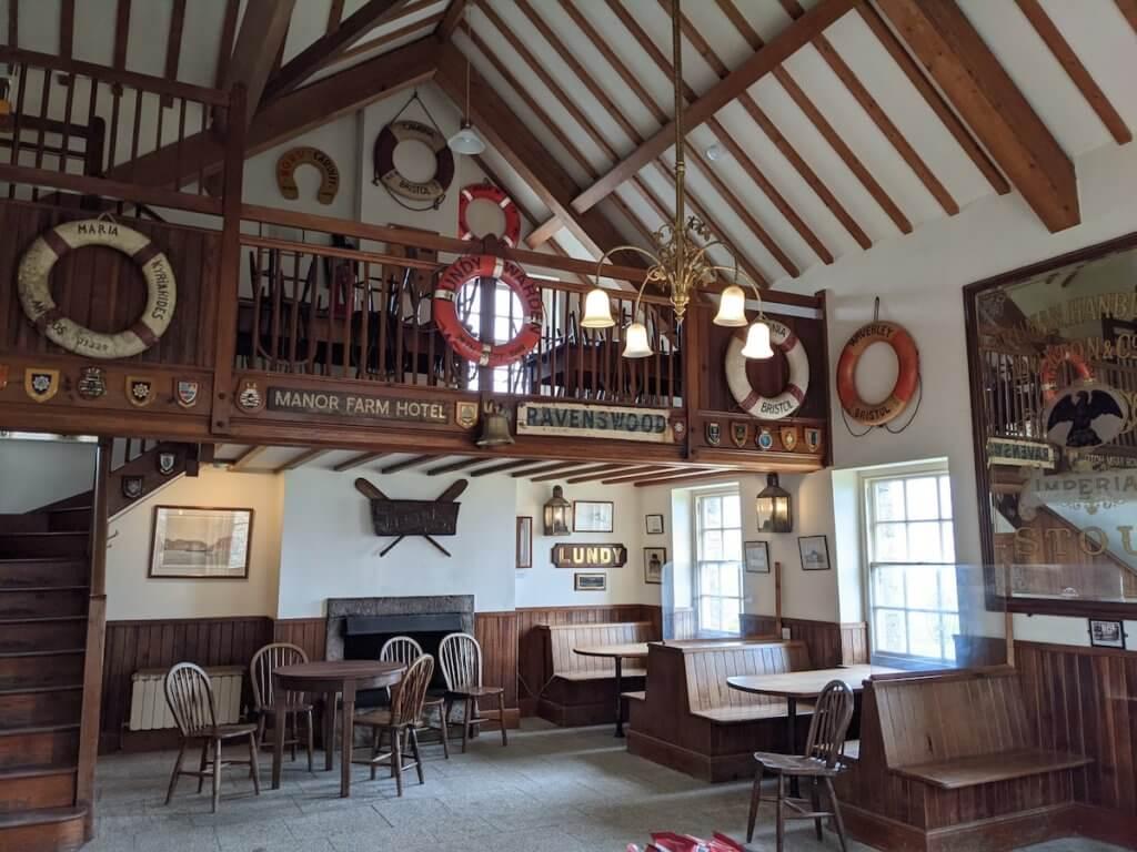 pub on lundy island