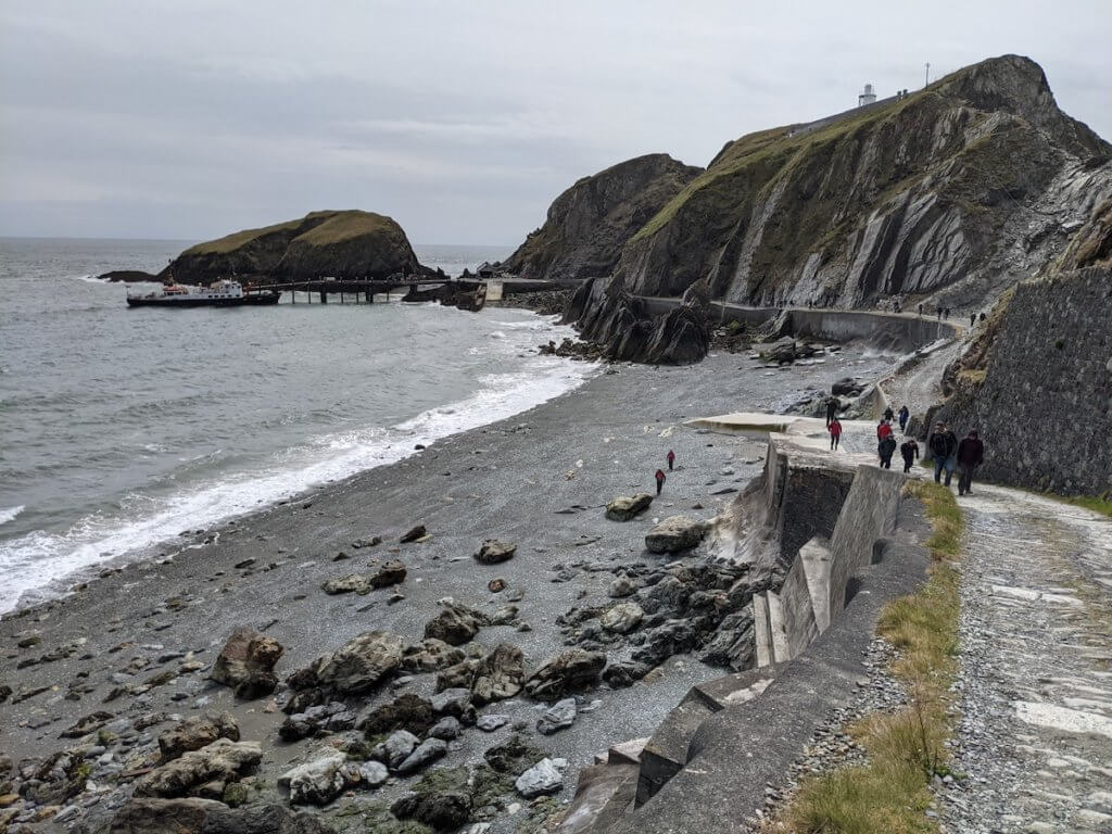 day out on lundy island