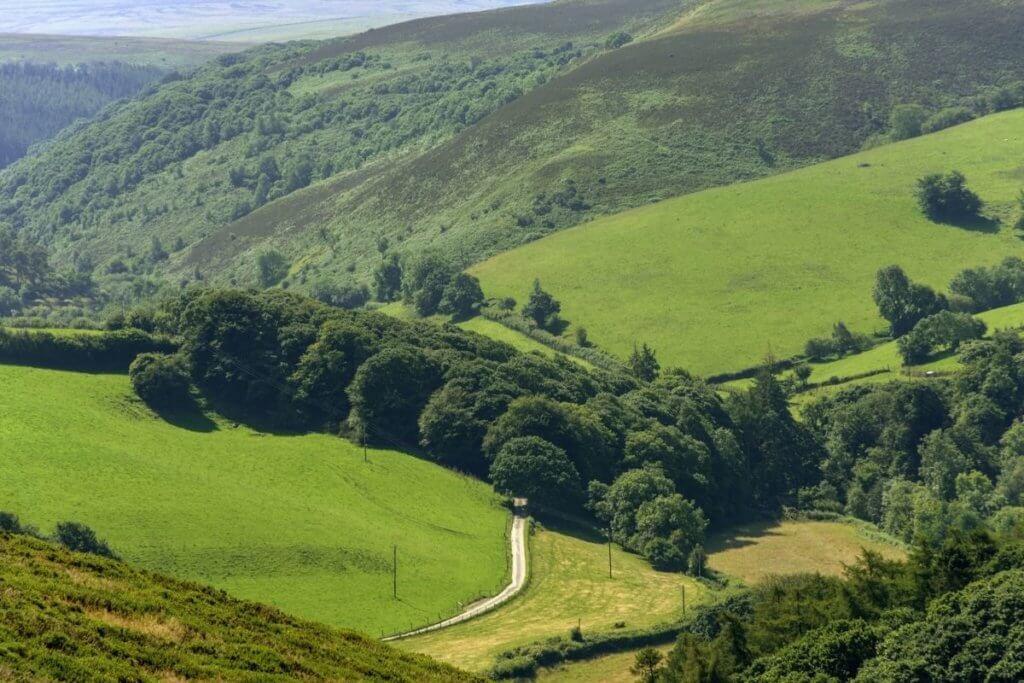 national park in exmoor