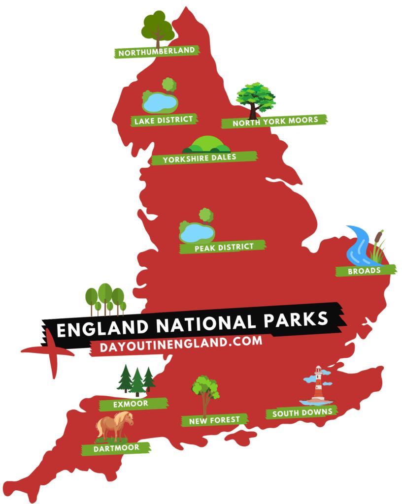 England National Parks