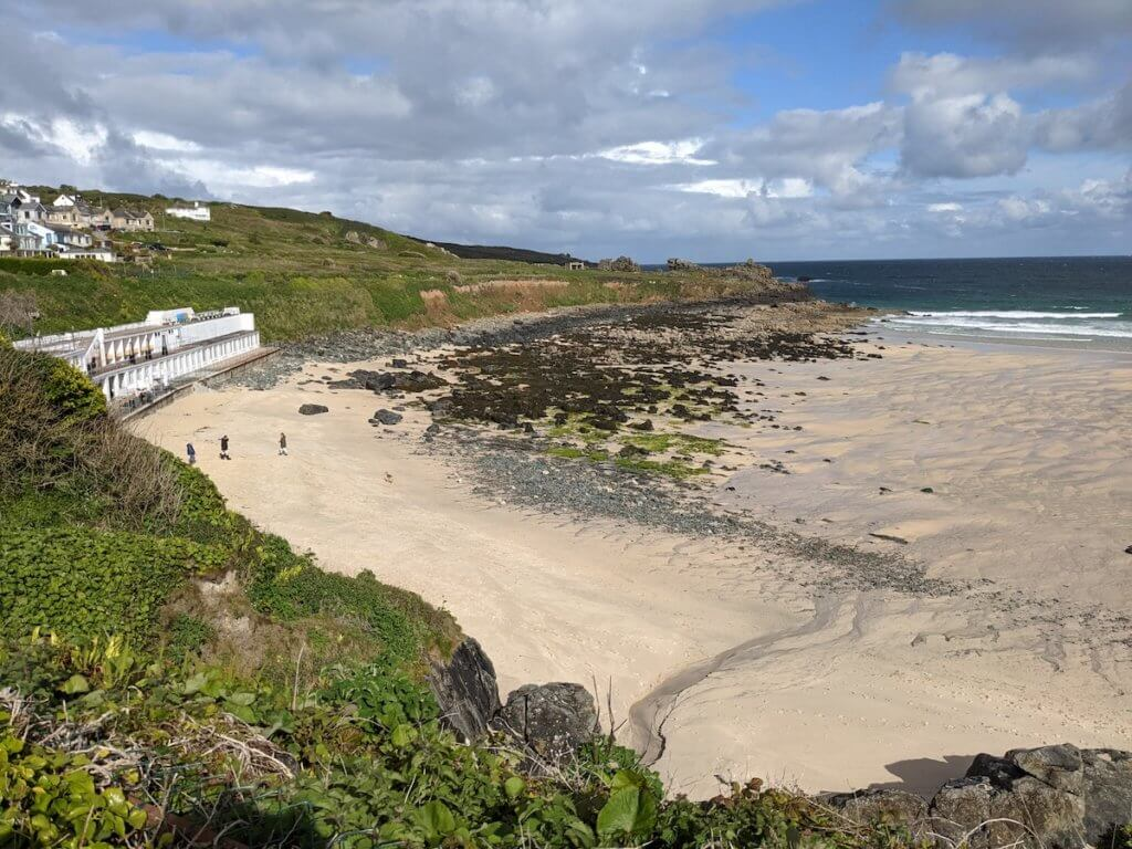 Beach in St Ives