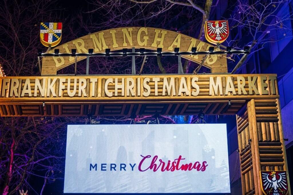 Best Christmas Markets in Birmingham